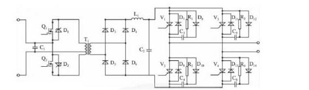 图2逆变器主电路
