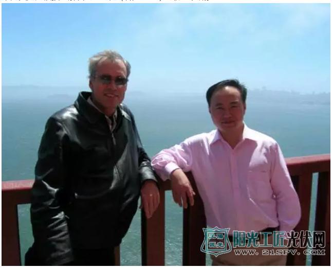 我和Stuart在旧金山合影