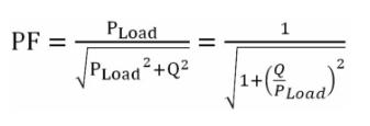 电网公司的功率因数计算公式