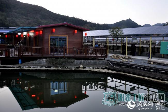 福建大田:扶贫村里的光伏,比风景还美!